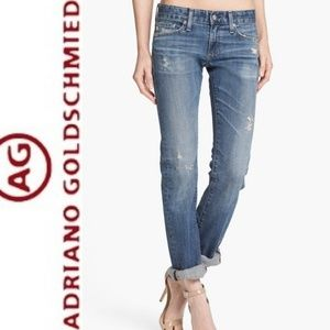 ADRIANO GOLDSHMIED Tomboy Distressed Jeans